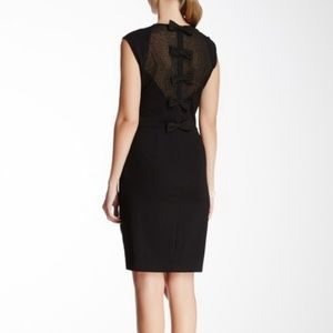 Erin Fetherston Black Riley Dress With Bows